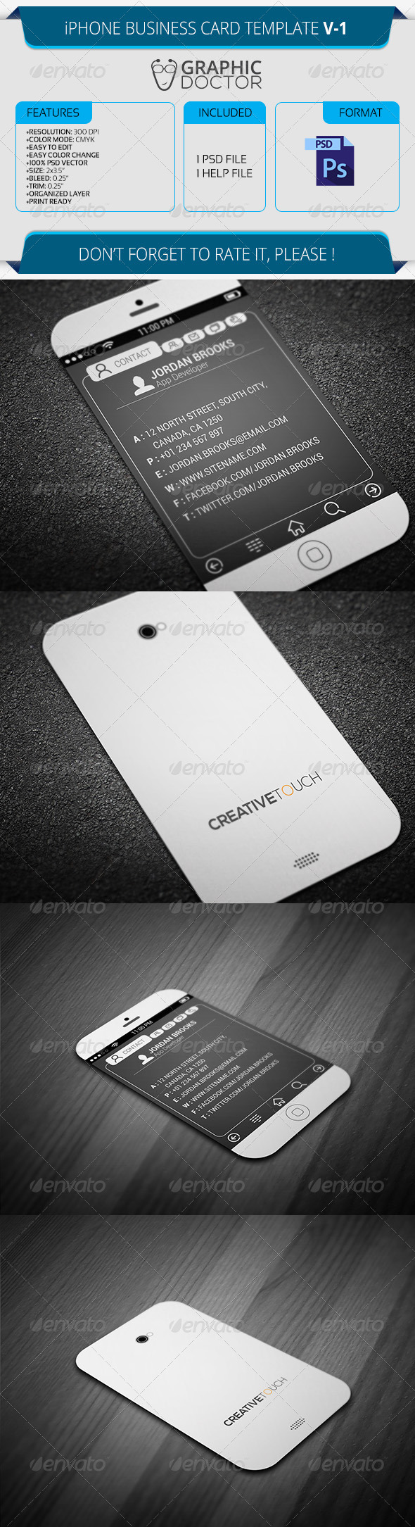 Real Object Business Card Templates from GraphicRiver