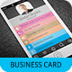 iPhone Business Card Template V-2