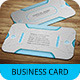 Cyborg Business Card Template SN-34