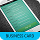 iPhone Business Card Template V-3