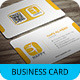 Stylish Business Card Template SN-35 - GraphicRiver Item for Sale