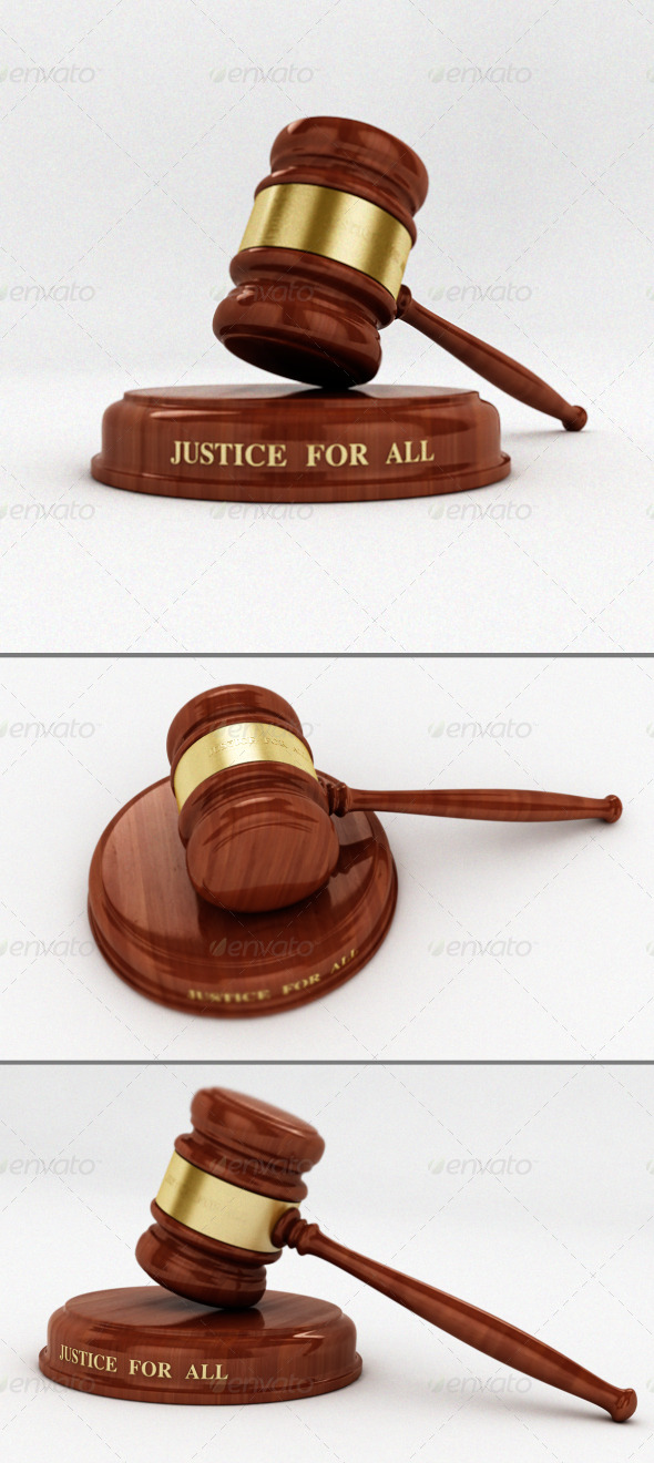 Gavel - 3DOcean Item for Sale
