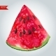 Slice of Watermelon - GraphicRiver Item for Sale