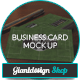 10 Realistic Business Card Mock Up - GraphicRiver Item for Sale