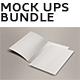 Flyers/ Posters/ Bifold Mockups Bundle - GraphicRiver Item for Sale