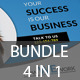 Corporate Flyer Bundle (4 in 1) - GraphicRiver Item for Sale
