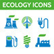 Ecology Vector Icons Set - GraphicRiver Item for Sale