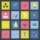 Science Flat Icons Set - GraphicRiver Item for Sale