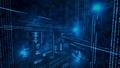 Illustration of virtual data - PhotoDune Item for Sale