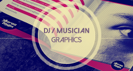 Dj and Musician Graphic Templates