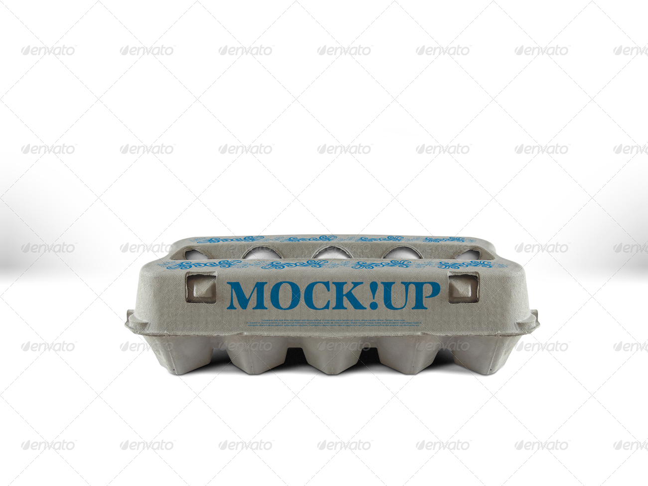 Egg Carton Mockup By Fusionhorn Graphicriver