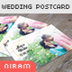 Save the Date Wedding Post Card Template - GraphicRiver Item for Sale