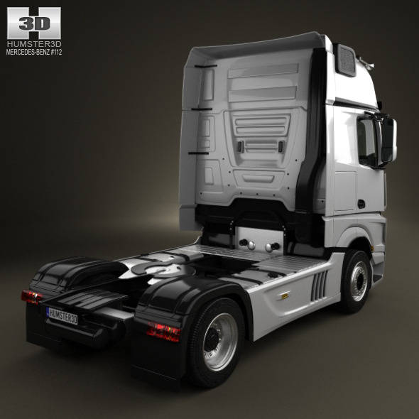 Mercedes Benz_Actros_(Mk4)_(MP4)_1851_Tractor_Truck_2axis_2011_590_0001  ...