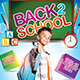 Kids Back to School Flyer / Poster Template - GraphicRiver Item for Sale