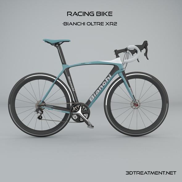 Racing Bike Model: Bianchi Oltre XR2 - 3DOcean Item for Sale