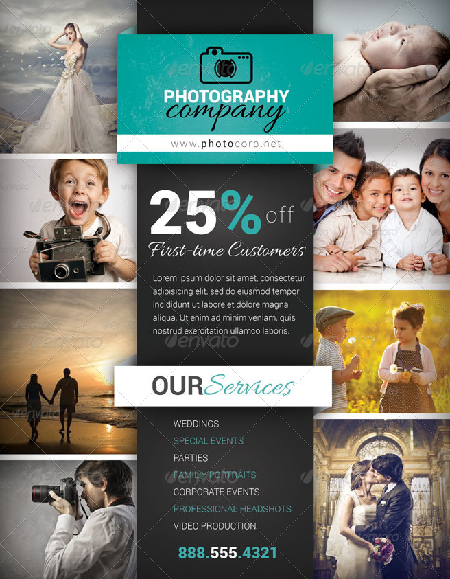 photography business flyer 5 by fakerjack