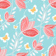Seamless Pattern Vintage Flowers - GraphicRiver Item for Sale