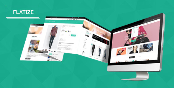 Flatize - Fashion eCommerce PSD Template