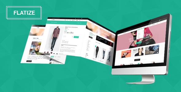 Flatize - Fashion eCommerce PSD Template