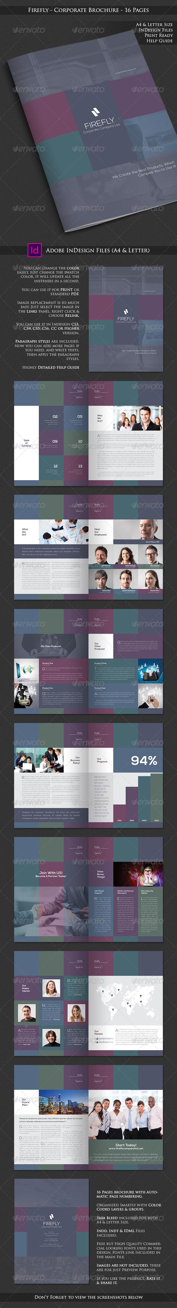 Firefly - Corporate Business Brochure - Corporate Brochures