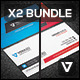 Business Card Bundle 04 - GraphicRiver Item for Sale