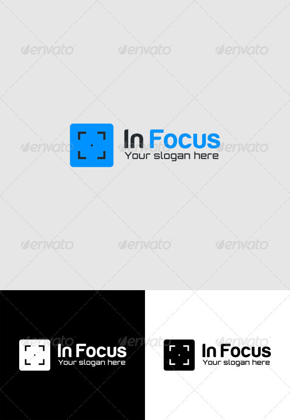 In Focus Logo - Vector Abstract