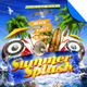 Summer Splash Beach Party Flyer Template