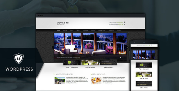 Welcome Inn – Hotel WordPress Theme