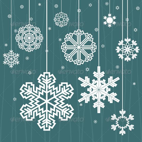 Christmas snow - Christmas Seasons/Holidays