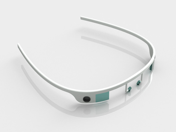 Smart glasses - 3DOcean Item for Sale