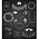 Wedding Chalkboard Banners and Ribbons Set - GraphicRiver Item for Sale