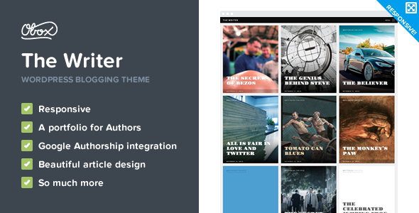 The Writer – Premium WordPress Blogging Theme