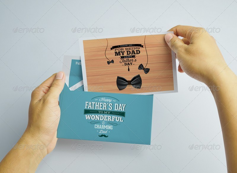 Postcard With Envelope Mockups by kongkow | GraphicRiver