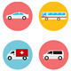 Vector Transportation Flat Icon - GraphicRiver Item for Sale
