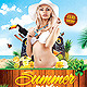 Summer Party Beach - GraphicRiver Item for Sale