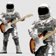 Astronaut Playing Electric Guitar - VideoHive Item for Sale