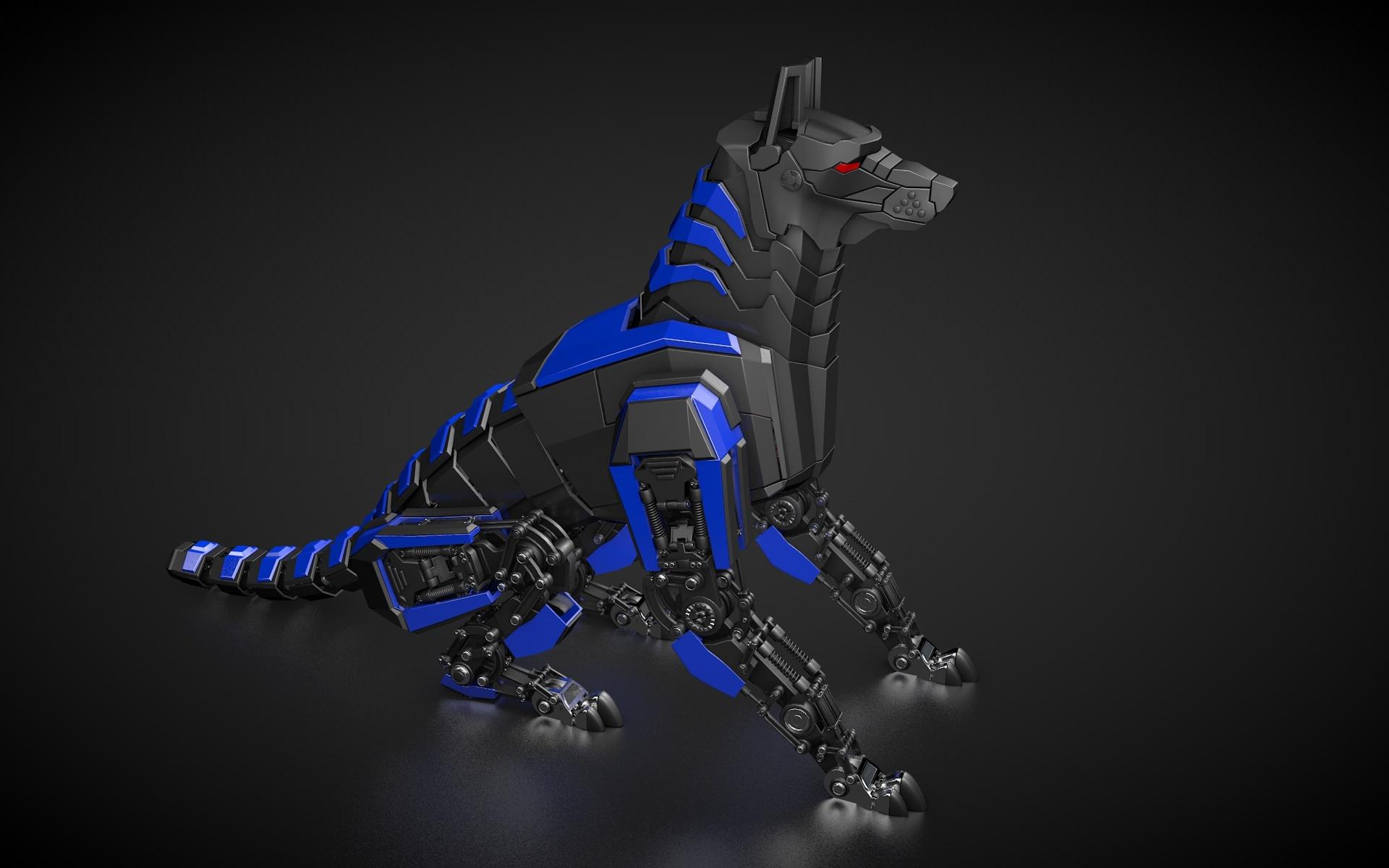 Robot Dog By Vladim00719 3docean