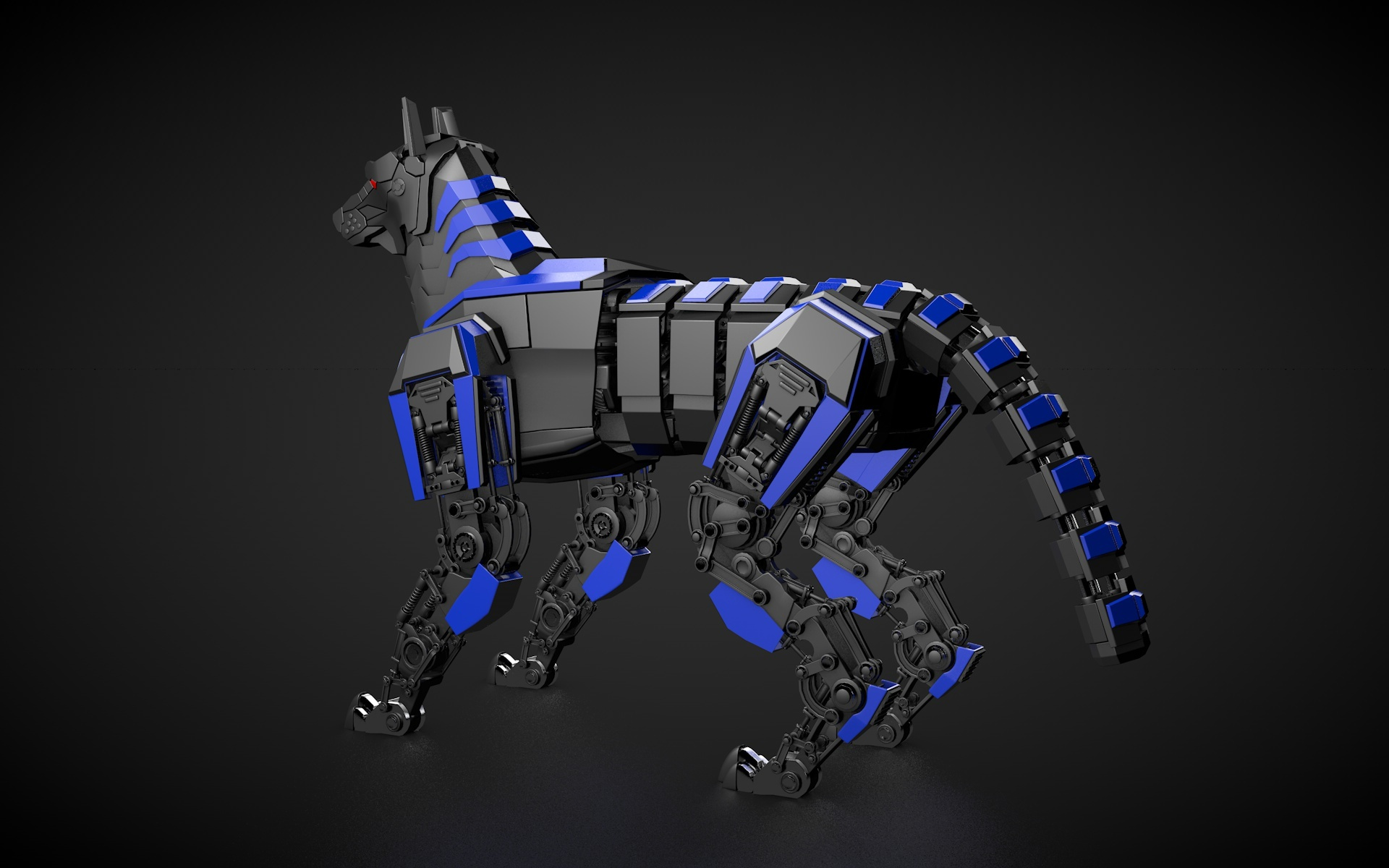Robot Dog By Vladim00719 3docean