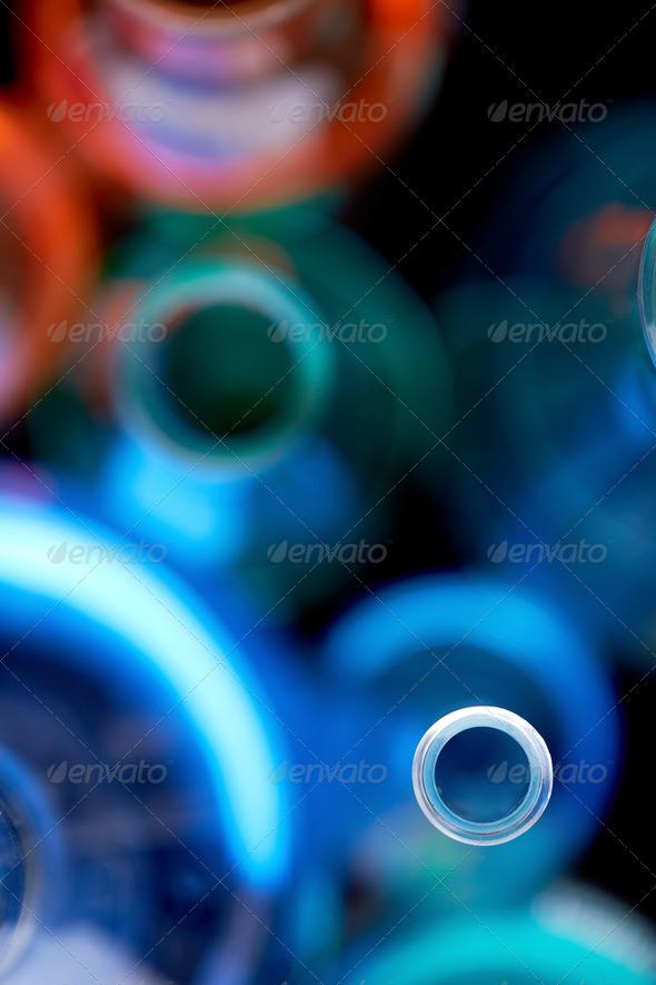Laboratory tubes - Stock Photo - Images