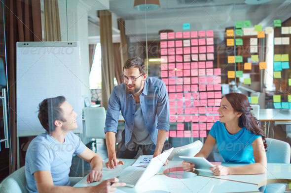 Business group working - Stock Photo - Images