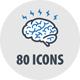 Education Icons - Blue Series Bundle - GraphicRiver Item for Sale