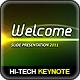 Hi-Tech Lights Keynote - GraphicRiver Item for Sale