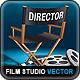 Film Studio Vector Set - GraphicRiver Item for Sale