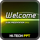 Hi-Tech Lights Powerpoint - GraphicRiver Item for Sale