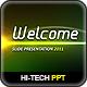 Hi-Tech Lights Powerpoint - GraphicRiver Item for Sale