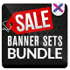 Product Sale Banners Bundle - 4 Sets - GraphicRiver Item for Sale