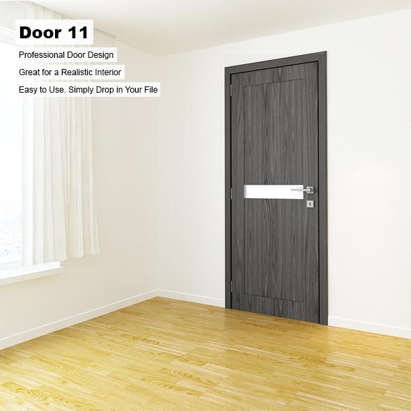 Door 11 - 3DOcean Item for Sale