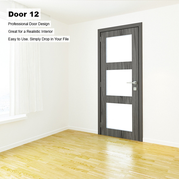 Door 12 - 3DOcean Item for Sale