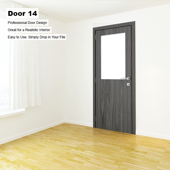 Door 14 - 3DOcean Item for Sale