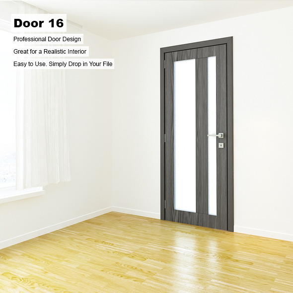 Door 16 - 3DOcean Item for Sale